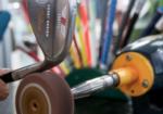 officina - zona officina dedicata alla riparazione e sistemazione dell'attrezzatura
